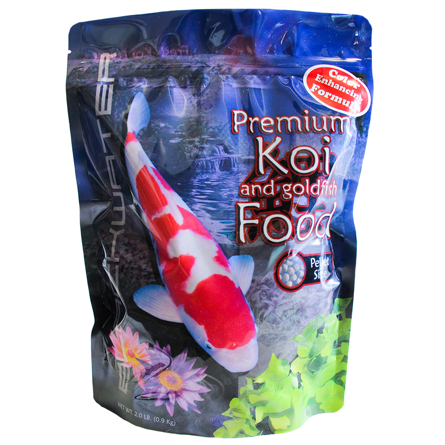 Hobby pack of gosanke peanuts free shipping 35 45 fish for Baby koi food