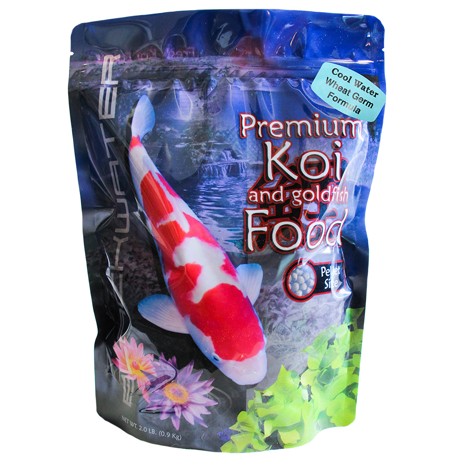 Blackwater cool season koi food 5lbs blackwater cool for Best food for koi fish
