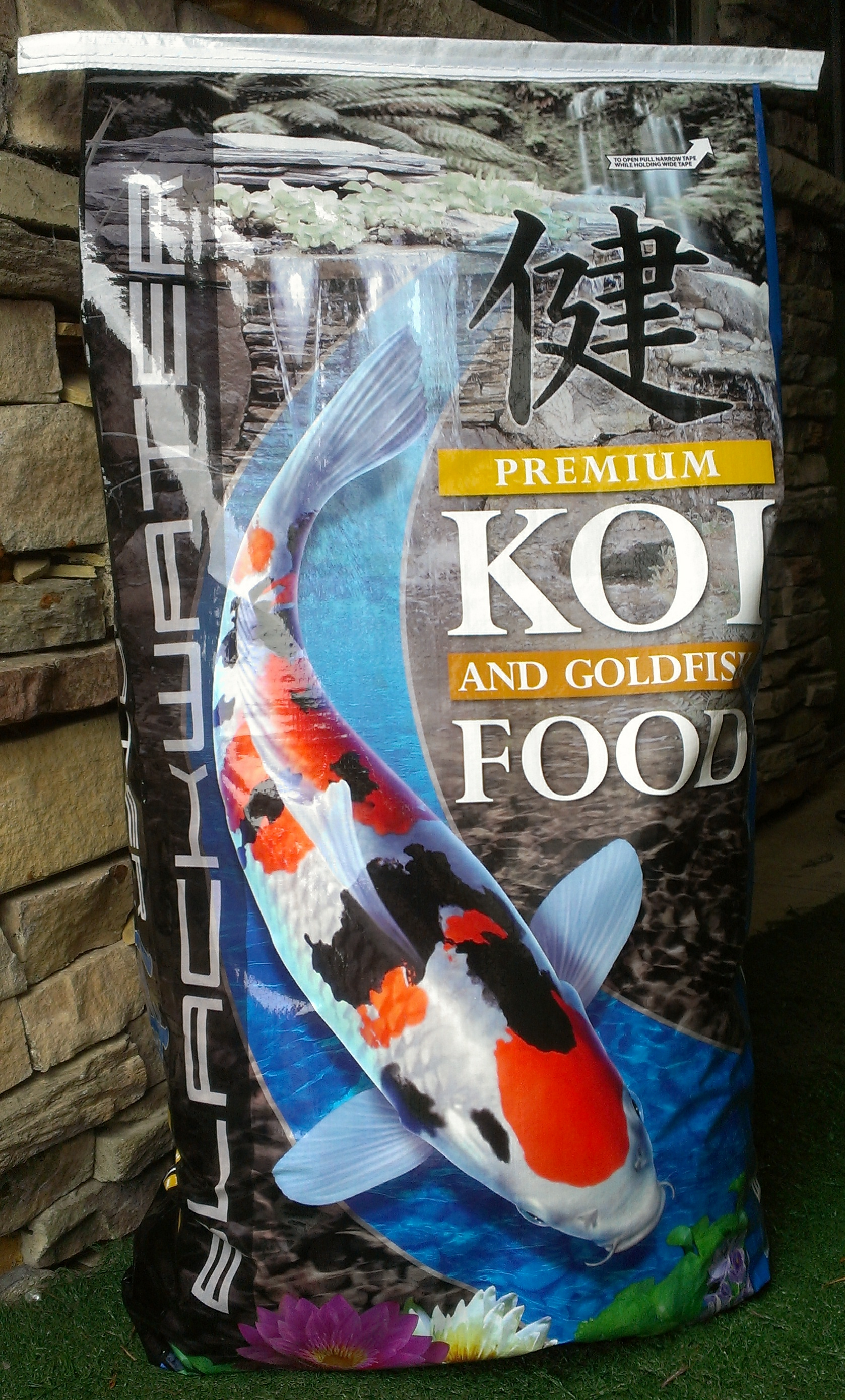 New 40LB Koi Food bags
