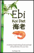 Ebi Shrimp Koi Diet From Aquatic Nutrition