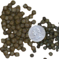 Blackwater Creek Koi food pellet sized large and med
